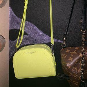 Neon Marc Jacobs bag